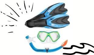 Snorkels & Masks & Goggles & Fins