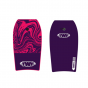 "TWF XPE 37"" Bodyboards - Purple Swirl"