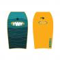 TWF XPE Bodyboard -  Yellow Wave