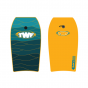 "TWF XPE 37"" Bodyboards - Yellow Wave"