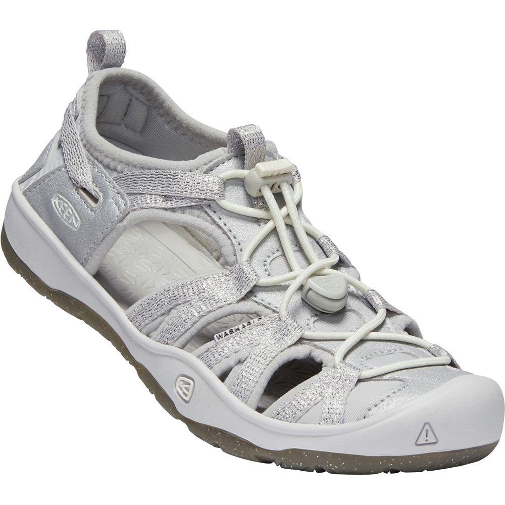 Keen Moxie Girls Sandals, Silver