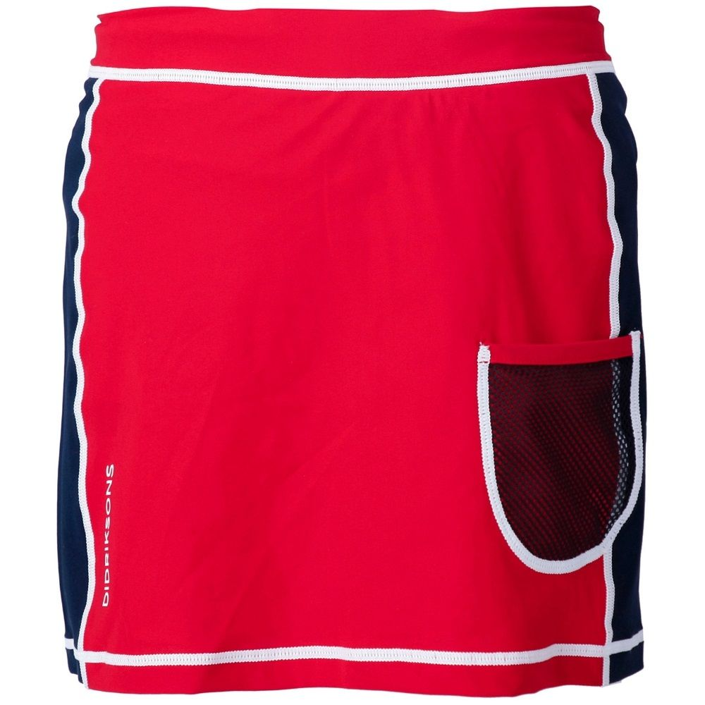Didriksons Coral Kids UV Skirt Chili Red