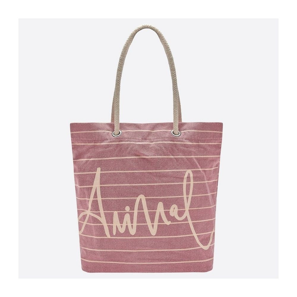 Animal Beach Bag - Stripes save 40%