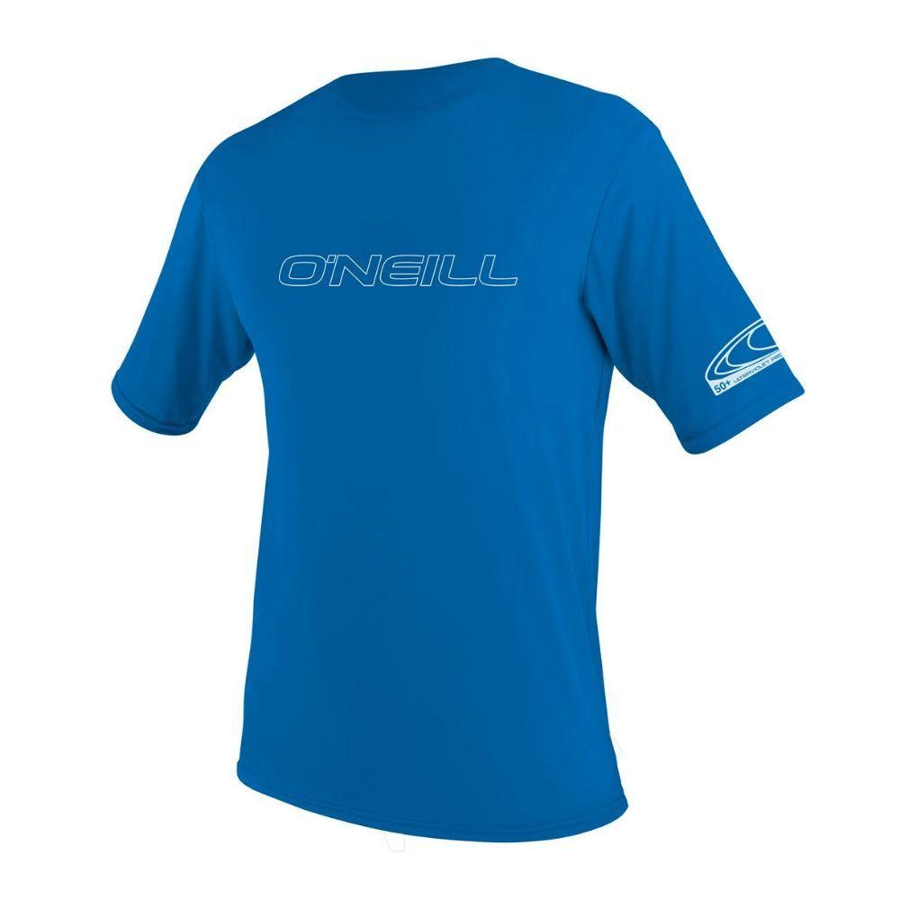 O'Neill Youth Basic UV Skins S/S Sun Shirt, Pacific