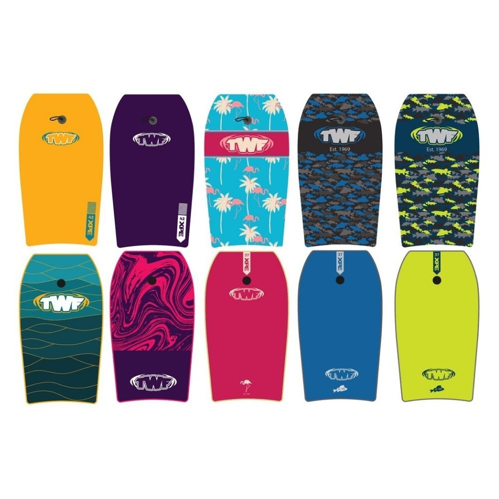 "TWF XPE Slickback 37"" bodyboards"