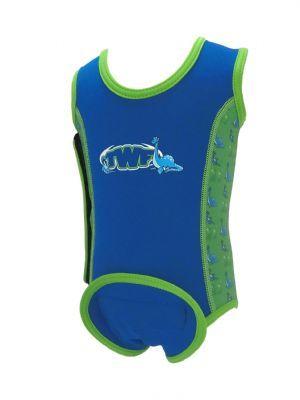 Baby Neoprene Wrap - blue dinosaur