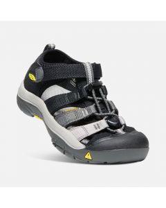 Keen Newport H2 Sandal - Black, Magnet - last size save 25%