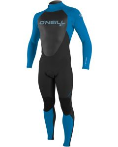O'Neill Epic Youth 4/3mm Full Wetsuit, Black/Bright Blue