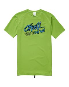O'Neill Boys Firstin Lastout S/S Skin - Fluor Green save 25%