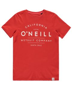 O'Neill Boys T-Shirt, Aurora Red - save 25%