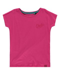 O'Neill Girls Summer Tee, Beetroot Purple - save 50%