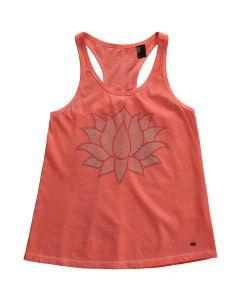 O'Neill Cooler Girls Summer Vest, Fluoro Peach save 25%