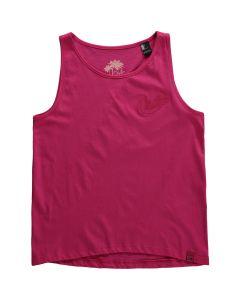 O'Neill Girls Summer Vest, Beetroot Purple - save 25%