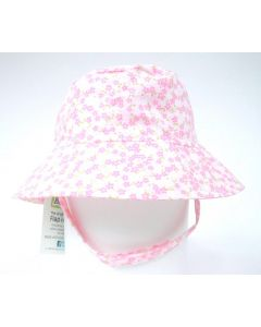 Flap Happy Crusher Baby Hat, Baby Blooms
