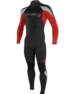 O'Neill Epic Youth 3/2 Wetsuit, Black/Red/Lunar