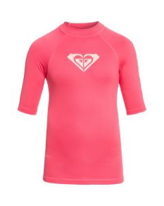 Roxy Wholehearted S/S Rash Tee - Rouge Red save 25%