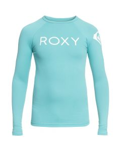 Roxy Funny Waves L/S Rash Crew - Aquarelle save 40%