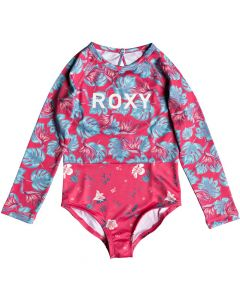 Roxy Mermaid L/S Onesie - Rouge Red save 40%