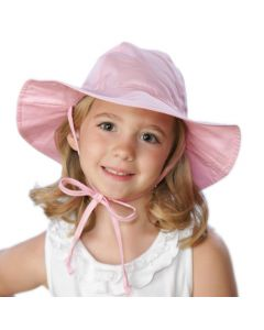 Flap Happy Floppy Hat, Pink