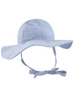 Flap Happy Floppy Hat, Chambray