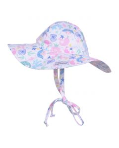 Flap Happy Floppy Hat, Mermaid 6/12 mths only save 40%