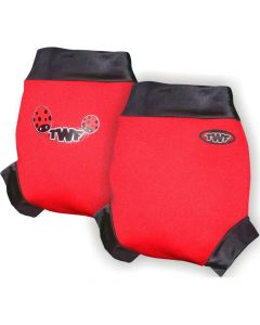 Swim Nappy Cover - Ladybird Red