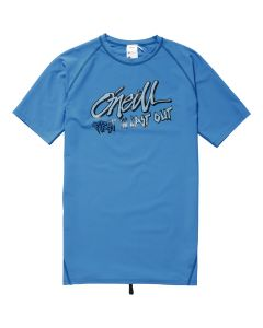 O'Neill Boys Firstin Lastout S/S Skin - Dresden Blue save 25%