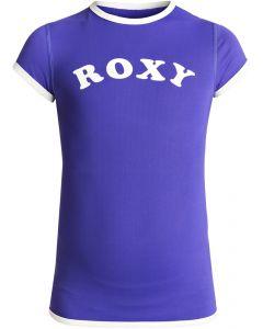 Roxy Sunset S/S UV Rash Tee, Royal Blue - 11-12 yrs only save 40%