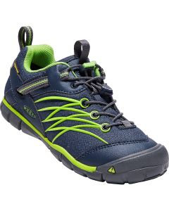 Keen Chandler CNX Trainers - Dress Blues/Greenery