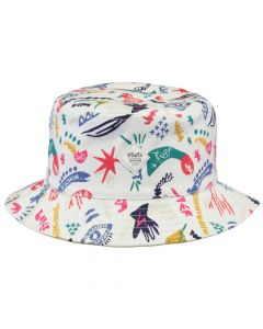 Barts Antigua Bucket Hat - White