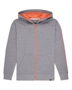 O'Neill Boys Full Zip Hoodie - Silver Melee - SAVE 25%