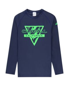 O'Neill Boys L/S UV Rash Vest - Blue