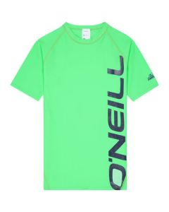O'Neill Boys PB Logo S/S UV Rash Vest - Leaf Save 25%