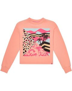 O'Neill Tropical Cropped Crew Sweatshirt