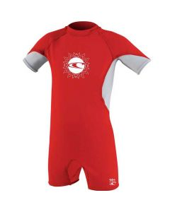 O'Neill O'Zone Toddler Spring UV Sunsuit Red - save 50%