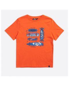Animal Boys Firecracker Orange Boardslide Graphic Tee