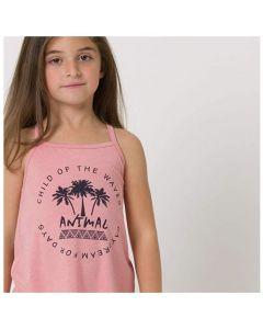 Animal Girls Vest - Palm Dream