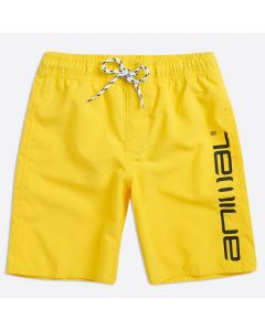 Animal Tannar Boys Boardshorts, Bright Yellow - save 40%