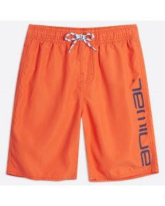 Animal Tannar Boys Boardshorts, Firecracker Orange