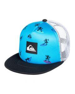 Quiksilver Wardog Boys Cap - Malibu Blue