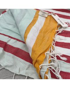 Barts Turn Beach Towel - Red only - save 50%