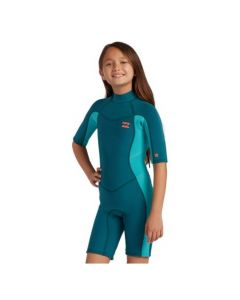 Billabong Girls Synergy BZ Spring Wetsuit, shortie wetsuit