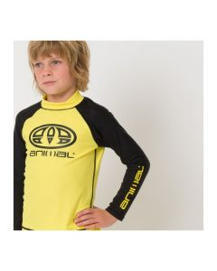 Animal Fontaine UV Rash Vest, Bright Yellow - save 50%