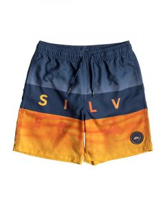 "Quiksilver Word Block 15"" Swim shorts, Medieval Blue"