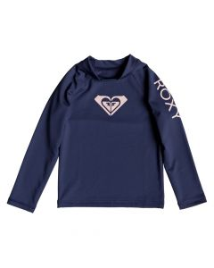 Roxy Wholehearted L/S Rash Tee - Medieval Blue