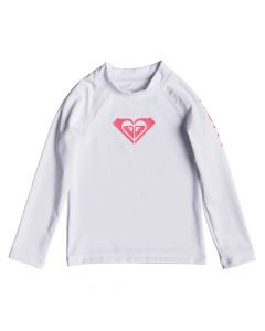 Roxy Wholehearted L/S Rash Tee - Bright White