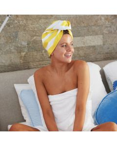 Dock & Bay Hair Wrap Quick Dry and Absorbent- Boracay Yellow