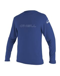 O'Neill Youth Basic UV Skins L/S Rash Tee, Pacific 4341