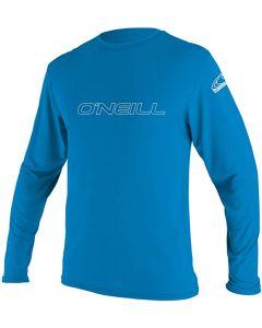 O'Neill UV Skins L/S Rash Tee, Bright Blue 4341 - 15/16 yrs only save 25%