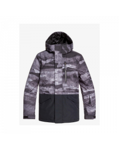 Quiksilver Mission Bloc Youth Ski Jacket Black - save 25%